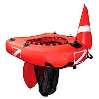 Надувной буй - плот для подводной охоты Sevylor Dive net