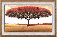 """Алмазная вышивка """"Красное дерево"""" большая картина"""