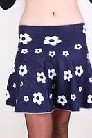 Модная женская юбка в цветок