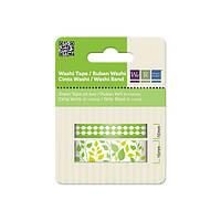 Декоративные ленты GREEN Washi Tape , 2 рулона , 42201-3