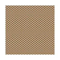 Лист - Washi Adhesive Sheet - Brown 30х30, 61834-8