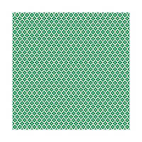 Лист - Washi Adhesive Sheet - Green 30х30, 61829-4