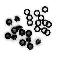 Люверсы и шайбы - Eyelets and Washers - Black , 42219-8