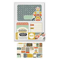 Карточки для журналинга Albums Made Easy - Webster Journaling Cards , 61988-8