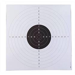 Мишень для пистолета 55 x 53 см. x 20 Kruger druck plus ve