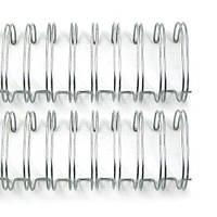 """Пружины для сшивания 3,2 см (1.25 """") Silver Wire Binders, 2 шт"""