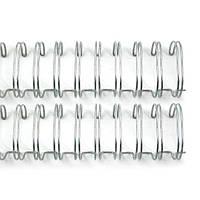 """Пружины для сшивания 2,5 см (1 """") Silver Wire Binders, 2 шт"""