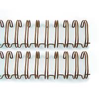 """Пружины для сшивания 2,5 см (1 """") Antique Gold Wire Binders, 2 шт"""