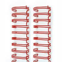 """Пружины для сшивания 1,6 см ( 5/8 """" ) Red Wire Binders , 2шт"""