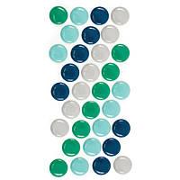 Самоклеющиеся полукапли - Enamel Dots - Cool, 42610-3