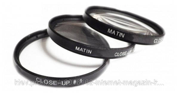 Набор линз для фотоаппарата MATIN Close-UP lens Sets 52mm