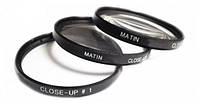 Набор линз для фотоаппарата MATIN Close-UP lens Sets 62mm