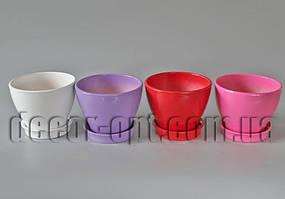 Горшок керамический глянцевый Ø12,0м/h10,5см