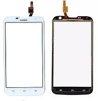 Сенсорный экран Huawei Ascend G730 U10 белый (тачскрин, стекло в сборе)