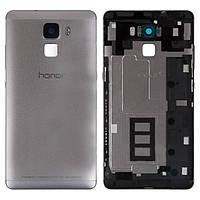 Задняя крышка корпуса Huawei Honor 7 серебристая