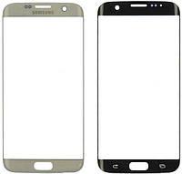 Оригинальное стекло Samsung G935 Galaxy S7 Edge белое