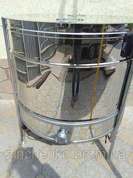 Медогонка радиальная 27Д/27Р/54П нержавейка (сталь 430), с эл. приводом, блоком питания, крышкой и подставкой