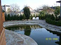 Строительство плавательных прудов.  Цена с учетом материалов и оборудования:, фото 1