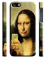 Чехол  для iPhone 5/5s  Мона Лиза