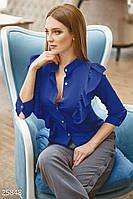 Яркая офисная блуза
