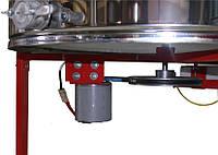 4-х рамочная Медогонка, нержавеющая автоматическая (ротор Н/Ж, с крышкой) под рамку «ДАДАН»