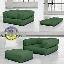 """Кресло-кровать и пуф """"Классик"""" - мягкий комплект 4 в 1"""