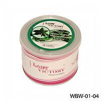 Водорастворимый воск для депиляции в банке Lady Victory WBW-01-04 (Чайное дерево), 500 гр