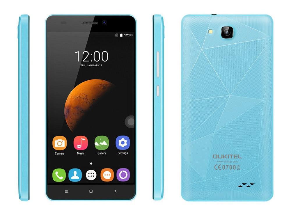 Смартфон Oukitel C3 Light blue (1Gb/8Gb) Гарантия 1 Год!