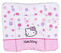 Пеленальный матрас Ceba Baby WD 85*70 multi Hello Kitty белый