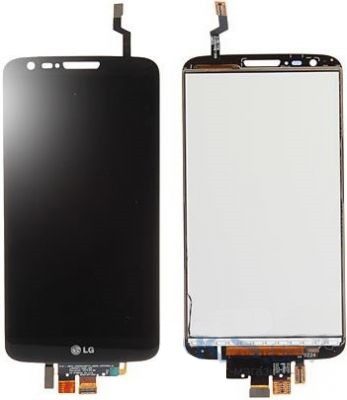Дисплей LG G2 D802,D805 black with touchscreen  (LCD TEST)