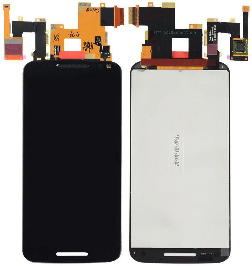 Дисплей Motorola XT1572 Moto X Style with touchscreen black