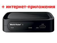 DVB-T2/C ресивер World Vision T62M - Т2+YouTube+IPTV, фото 1