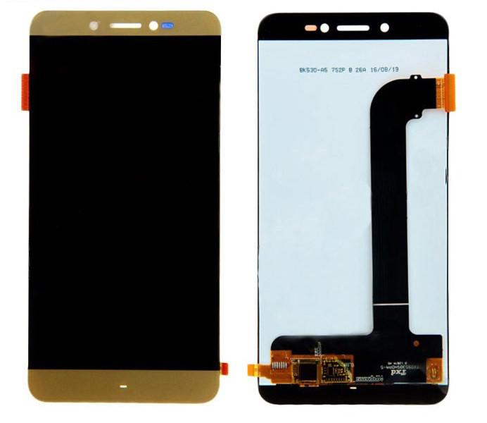 Дисплей Prestigio Grace Z5 with touchscreen gold orig