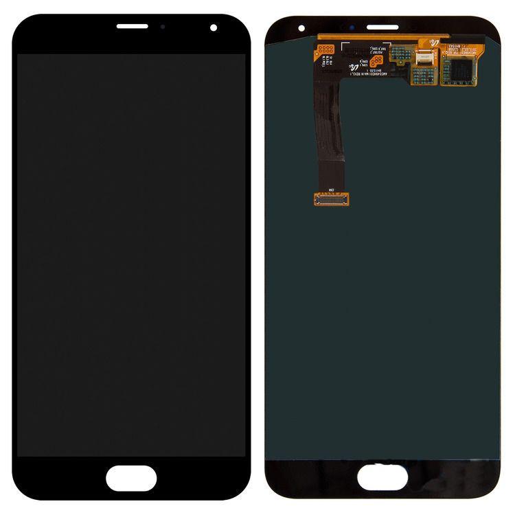 Дисплей Meizu MX5 with touchscreen black