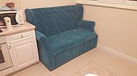 Мягкая мебель по размеру кухни (Синяя)
