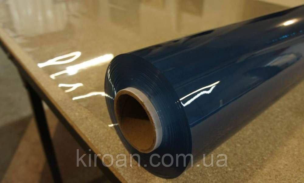 Прозрачная силиконовая скатерть НА МЕТРАЖ,140 СМ толщина 0,2мм (200 мкм)