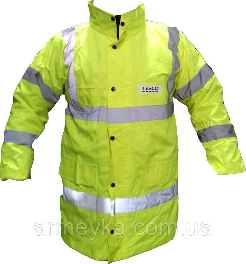 Водонепроницаемая светоотражающая куртка TESCO (удлиненная). Великобритания, оригинал.