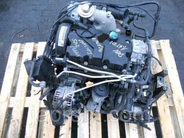 Мотор (Двигун) Audi A2 VW Polo Skoda Fabia Seat Ibiza 1.4 TDI BHC 2005r