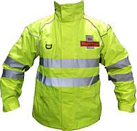 Водонепроникна світловідбиваюча куртка Royal Mail (подовжена). Великобританія, оригінал.
