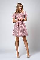 Модне плаття в смужку, фото 1