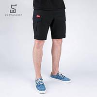 Карго шорты Punch, черные, фото 1