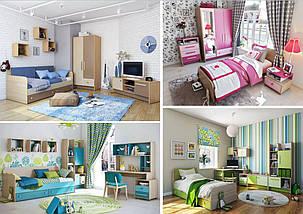 Детская комната Акварели розовые, фото 3