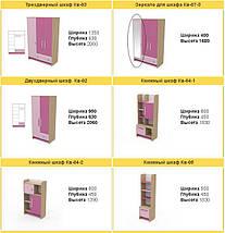 Детская комната Акварели розовые, фото 2