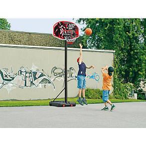 Мобильная баскетбольная стойка Hudora (210 - 260 см), баскетбольное кольцо, фото 3