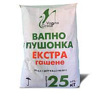 Известь гашеная (пушонка) ЭКСТРА, 25 кг
