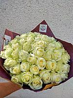 """Букет из белых роз """"Воздушный"""", фото 1"""