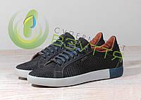 Кожаныемужские туфли Extrem 1736 сетка 41,42,45 размеры, фото 1