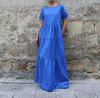 Платье летнее макси оверсайз, фото 1