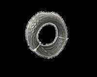 Леска для триммера 2,0мм*10м, армована (зірка)