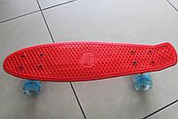 Скейт Пенни борд (Penny board) 694к свет колёса. 55см.